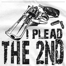 I PLEAD THE SECOND REVOLVER