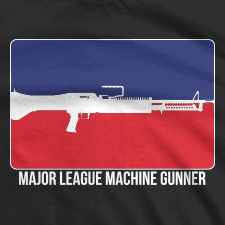 MAJOR LEAGUE MACHINE GUNNER