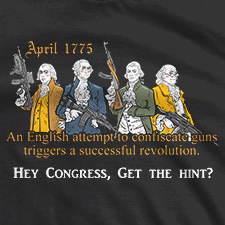 THE BRITISH TRIED AND CAUSED A REVOLUTION. CONGRESS GET THE HINT